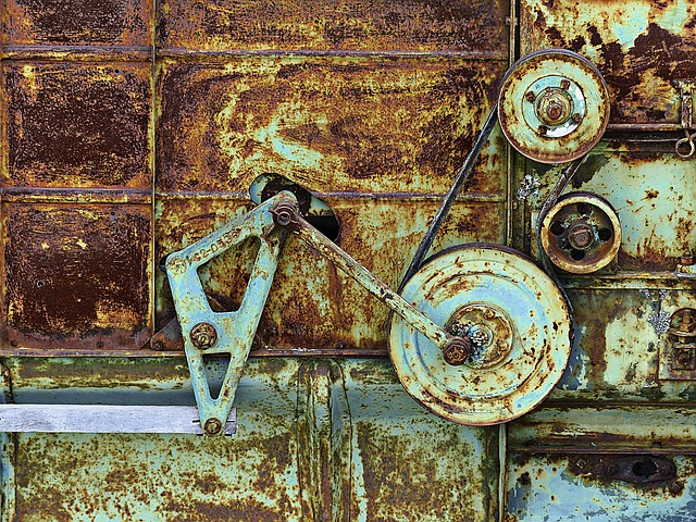 Rusty, Metal, Old Machine - Free image - 185531