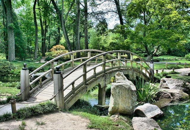 Bridge, Japanese Garden, Arch - Free image - 53769