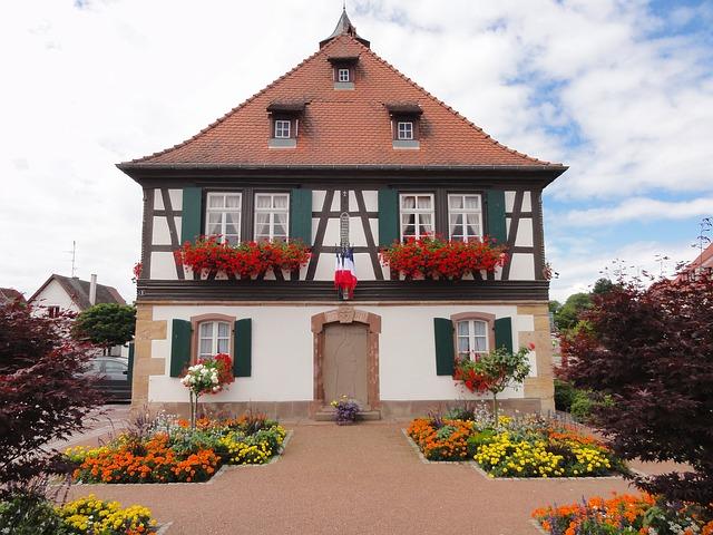 Seebach, France, House, Home, Sky - Free image - 86514